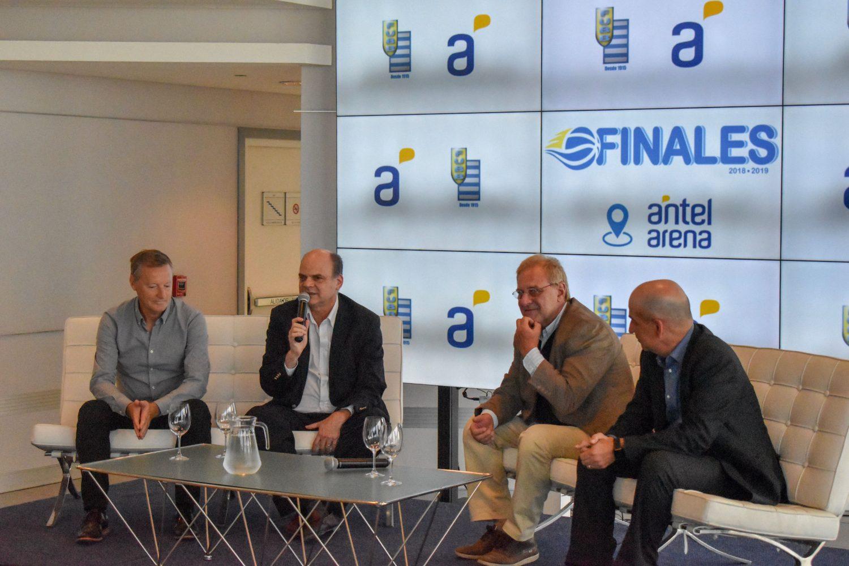 Lanzamiento Finales Liga Uruguaya